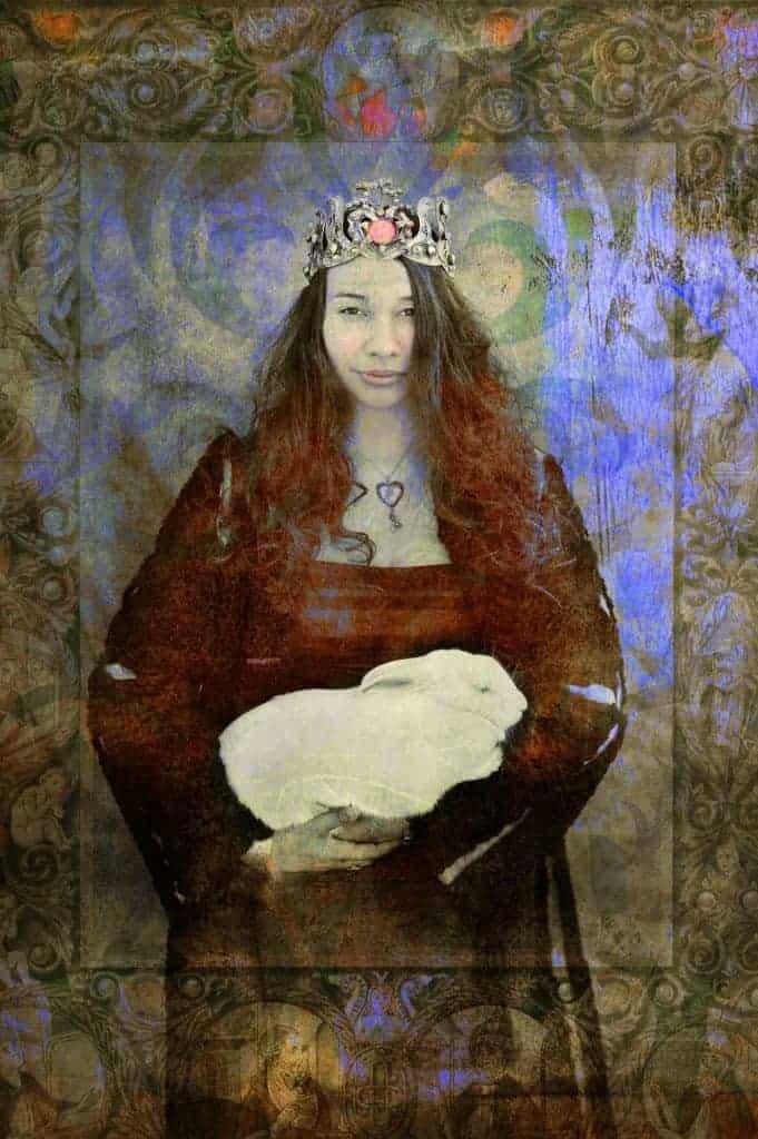 March 28 Goddess Easter Rabbit