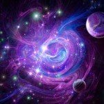 universe planets purple