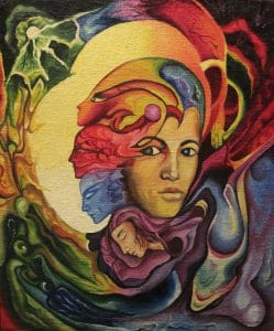 Woman Venus Goddess full Intense