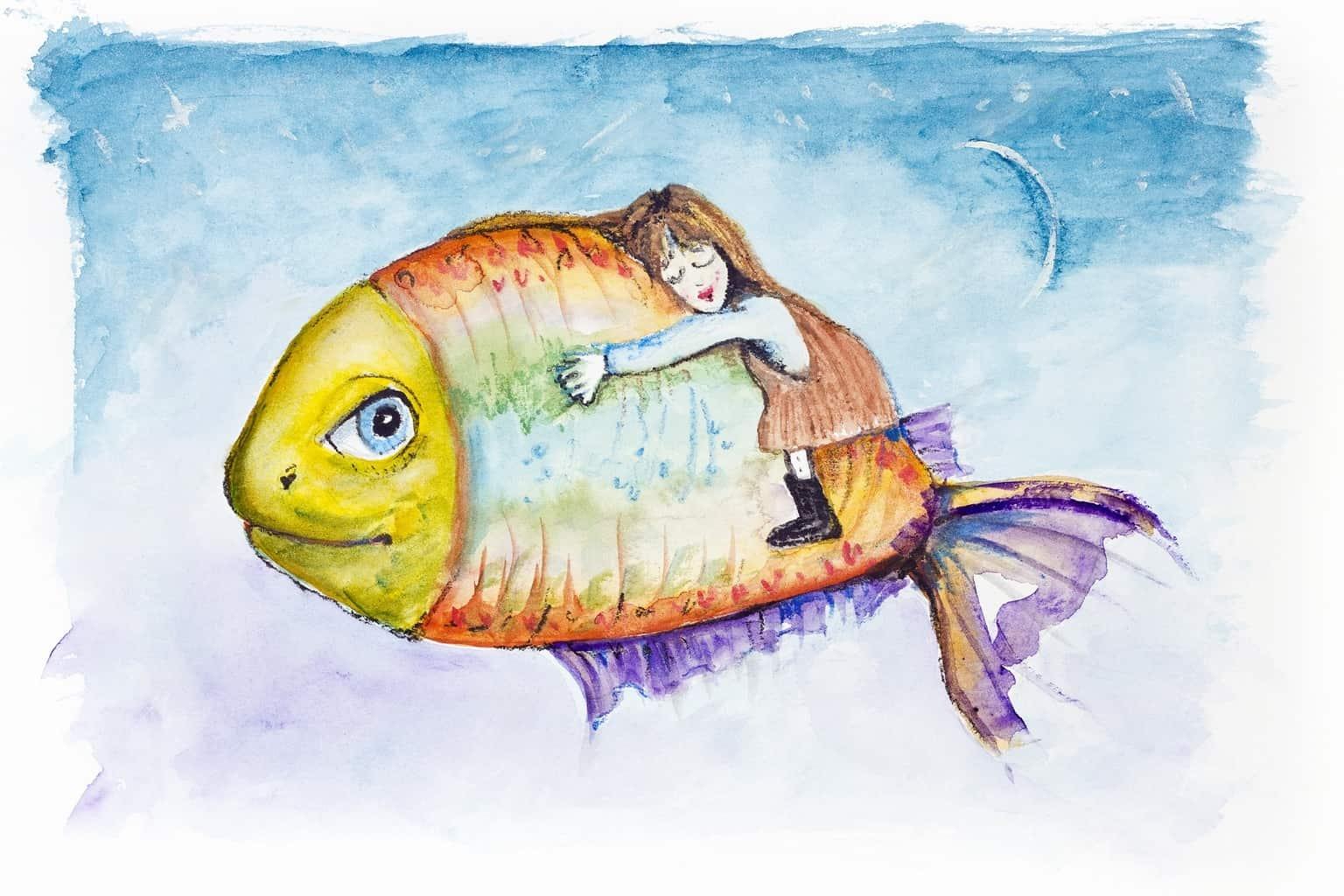 Рыбка моя прикольные картинки, надписями без