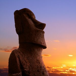 aster island sunrise