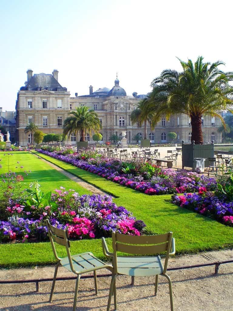 paris luxemburg garden